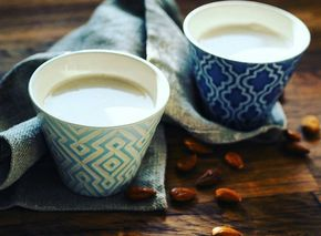 Domácí mandlové mléko - Detox chutně
