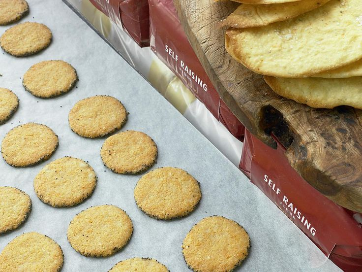 Parmesan and Poppy Biscuits - The Happy Foodie