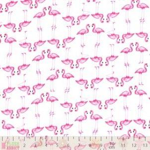 http://www.plushaddict.co.uk/craft-cotton-poplin-flamingoes.html Craft Cotton - Poplin Flamingoes