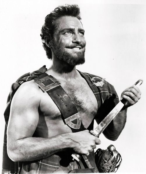 "Richard Todd in a publicity shot for ""Rob Roy"" (1954)"