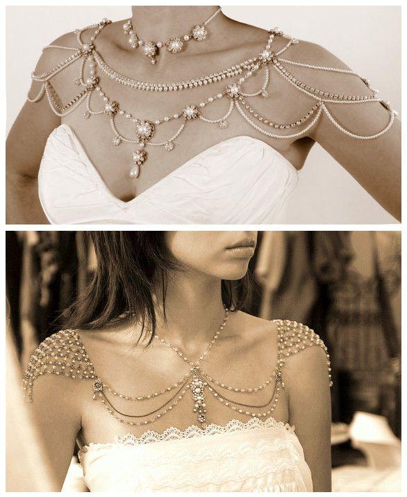 Gioielli per le spalle / Shoulder necklace