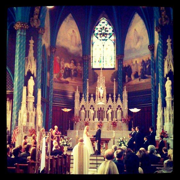 Congrats John And Amanda! (St. Xavier Church In Cincinnati