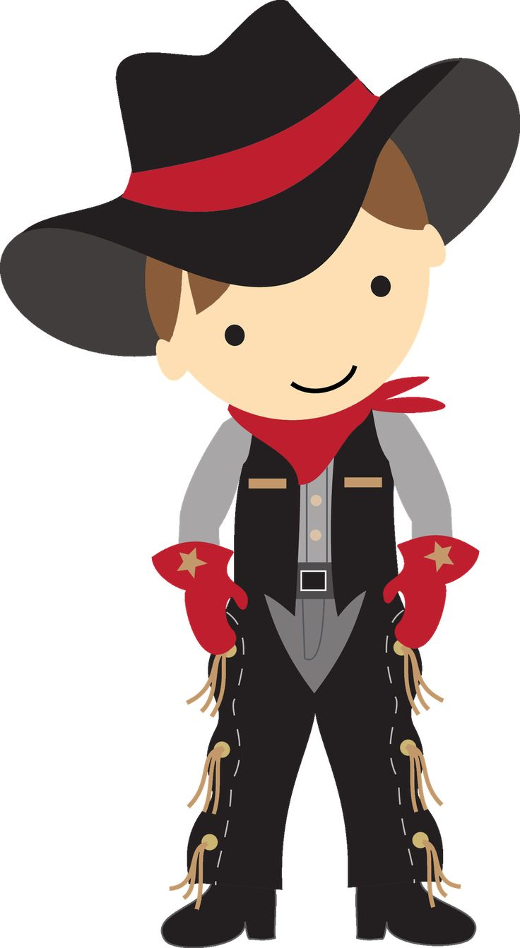 Cowboys, Clip art and Cowboy outfits on Pinterest