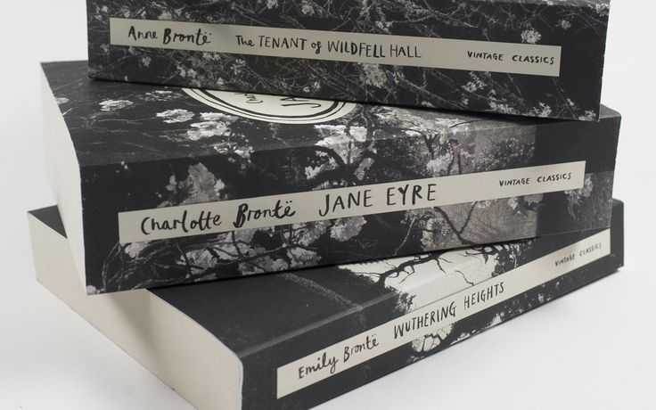 The images by artist Sarah Gillespie wrap around the front, spine and back cover of each book