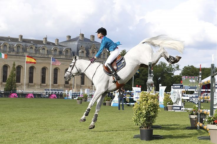 Caballos. Para el cierre de la primera jornada en el Longines Global Champions Tour de Chantilly se realizó la Primera Competencia del Global Champions League, donde la amazona portuguesa Luciana Diniz resultó ganadora.