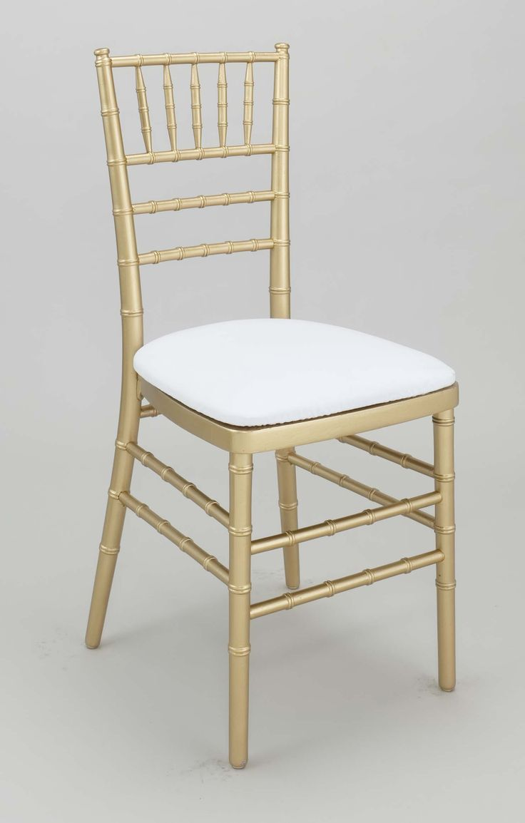Chiavari chairs rental chicago chairs for - Gold Chiavari Chair With White Cushion For Each Guest Maria To Order These