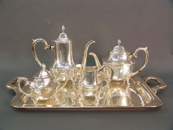 Sterling Silver Tea Set Streilimg Coffee Pot Sets Pinterest And
