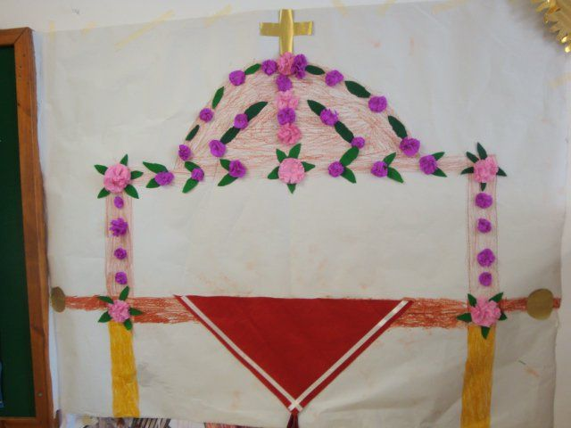 Τα μικιά μου , arts kindergarten: Πάσχα