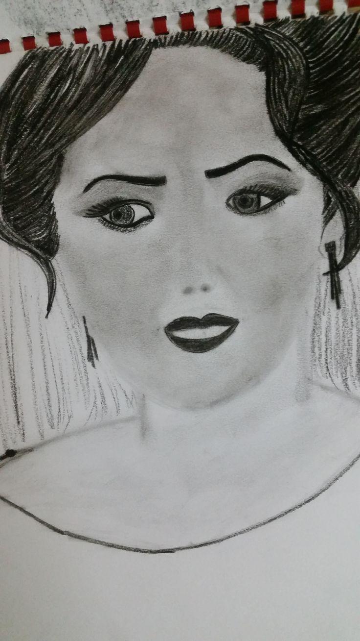 Drawing princess face