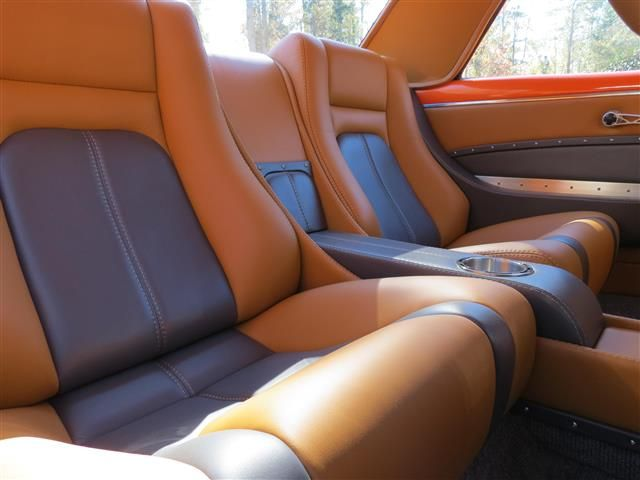 Hanks 39 S 1967 Camaro Custom Leather Interior Interiors By Upholstery Garage