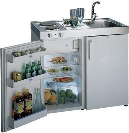 Mini Kitchen from Whirlpool | Appliancist Really compact kitchenette! Great for condo common area guest use