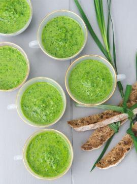 deVegetariër.nl - Vegetarisch recept - Puur Plantaardige raw food gazpacho