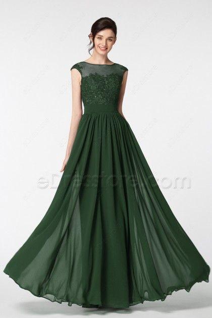 1d769fccdf0c7 Green evening dresses: noble and playful Dark Green Formal Dresses Plus  Size Evening Dresses