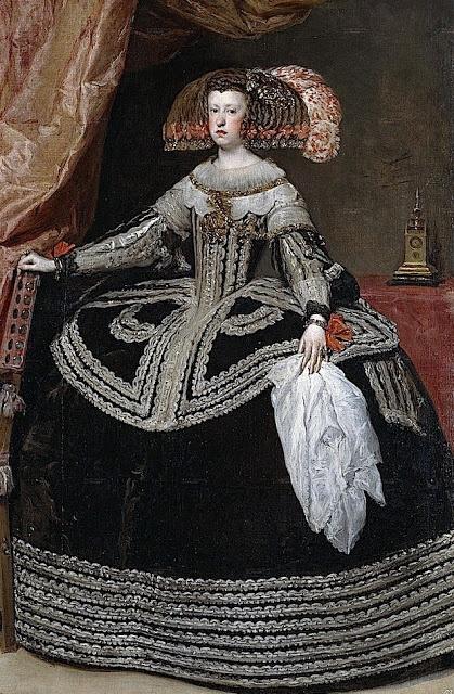 Diego Rodríguez de Silva y Velazquez (Spanish painter, 1599–1660) Queen Dona Mariana of Austria 1652