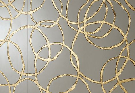 Graniti Fiandre gold patterned tile. Love the organic nature of these.