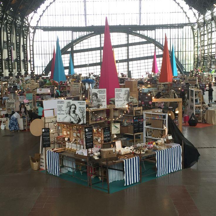 This is us in MasDeco Market fair. Santiago de Chile