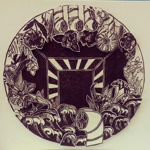 #linoleum #engraving #3d