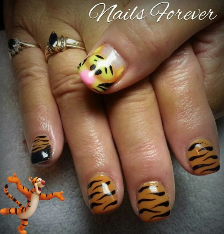 Tigger Nails: Tigger Nails 2013 August/ Nails Forever On Facebook (one
