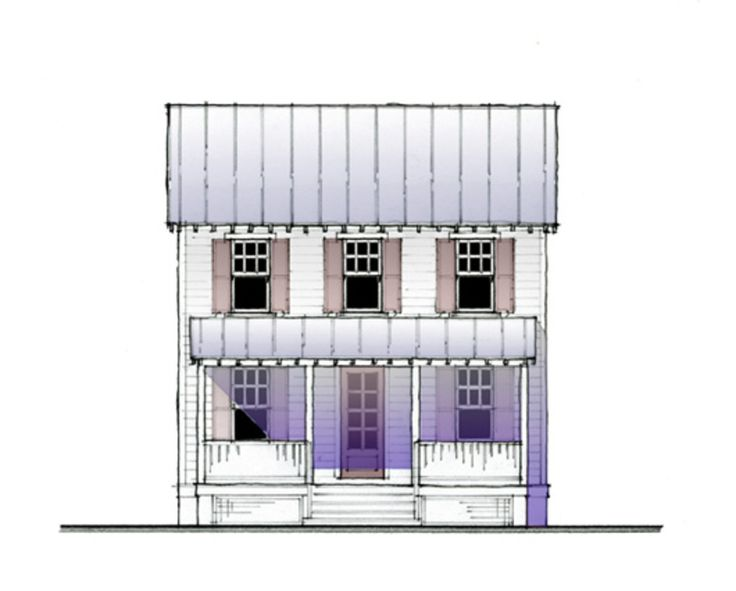 Cottage Other Elevation Plan #514-13