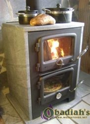 Soapstone cook stove