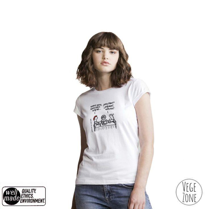 Mum, Dad, I quit meat! http://vegezone.pl/15-koszulki
