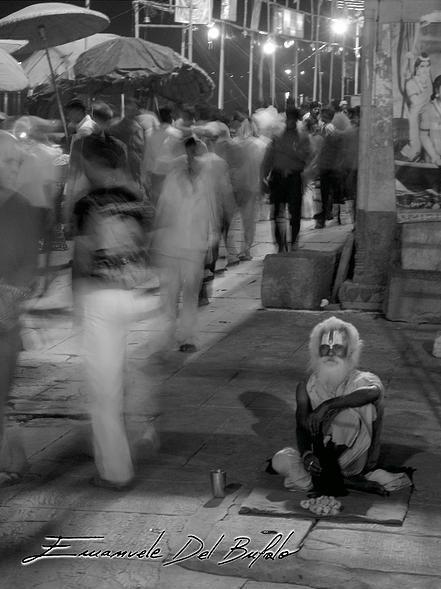 Namasté OM Sai Ram_/ \_Ahimsa Sadhu Holy Man (probably in India or Nepal) - emanueledelbufalo.com portfolio humans.