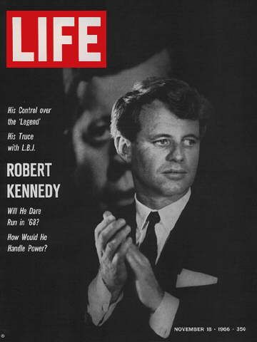 RF Kennedy Life Magazine Cover