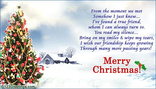 Christmas Wishes For Friends   Christmas Wish! Free Friends eCards, Greeting Cards   123 Greetings