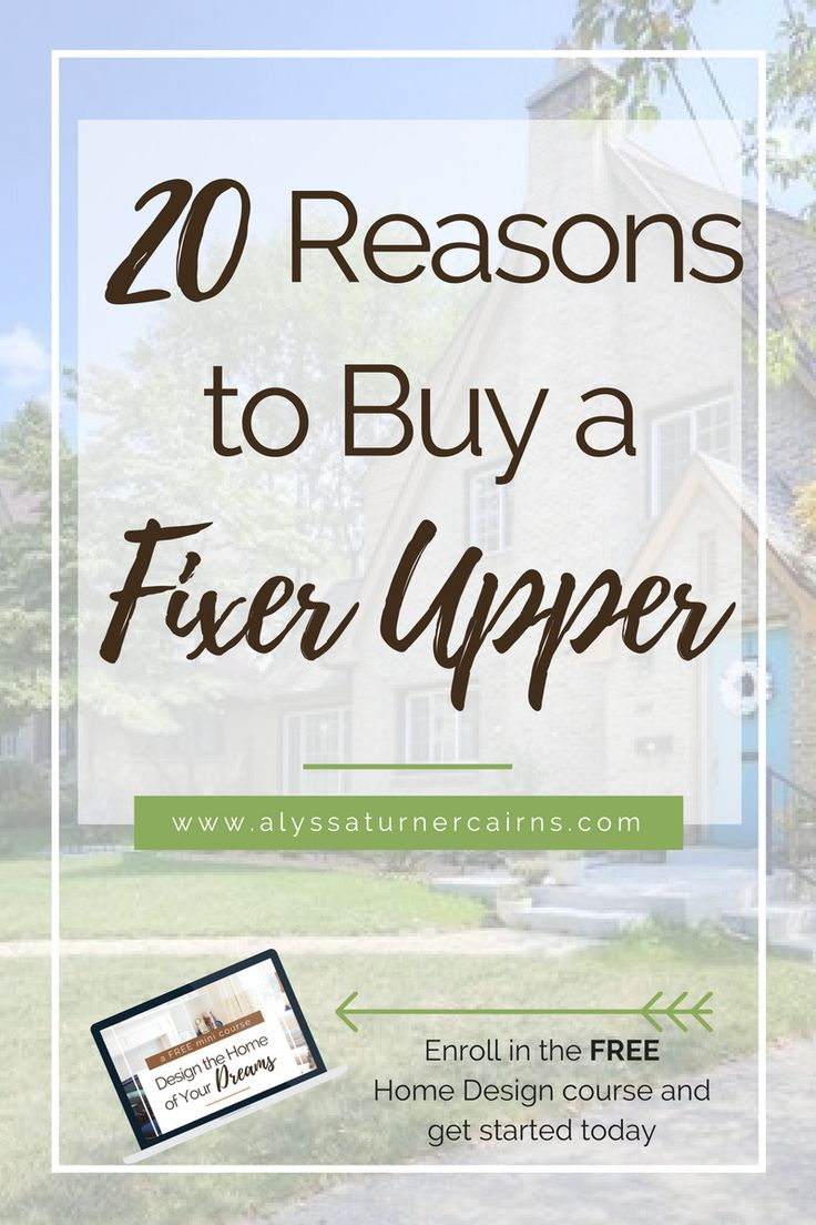 20 reasons to buy a fixer upper distressed propertypep talkshome - Distressed Home Design