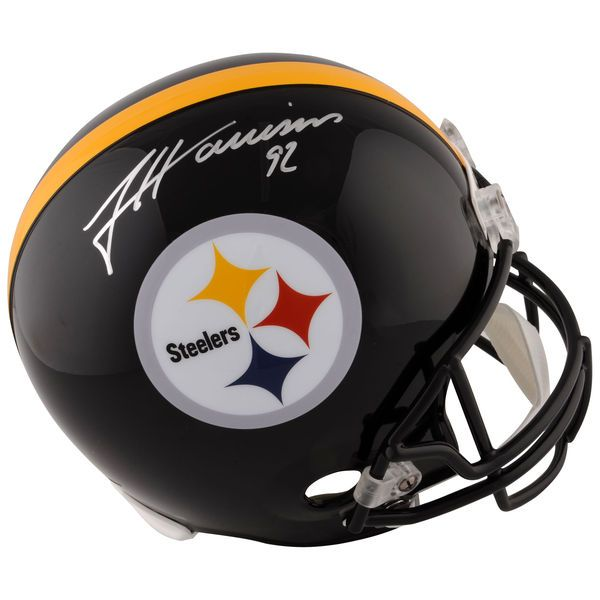 James Harrison Pittsburgh Steelers Fanatics Authentic Autographed Riddell Replica Helmet - $399.99