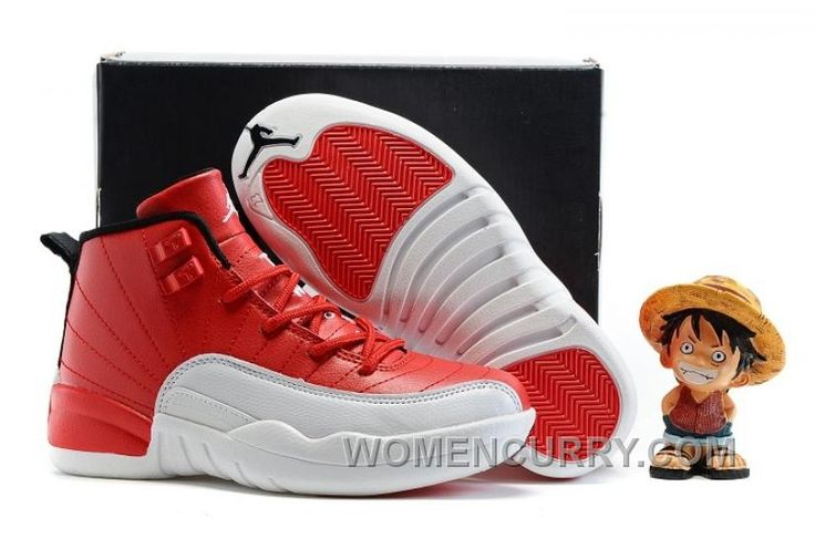 "https://www.womencurry.com/2017-kids-air-jordan-12-gym-red-basketball-shoes-authentic-6scjg.html 2017 KIDS AIR JORDAN 12 ""GYM RED"" BASKETBALL SHOES AUTHENTIC 6SCJG Only $69.00 , Free Shipping!"