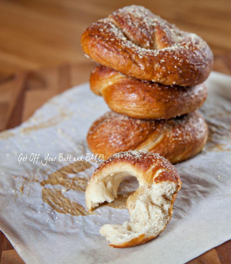 buttered pretzels pretzels yummy homemade soft pretzels pretzels ...