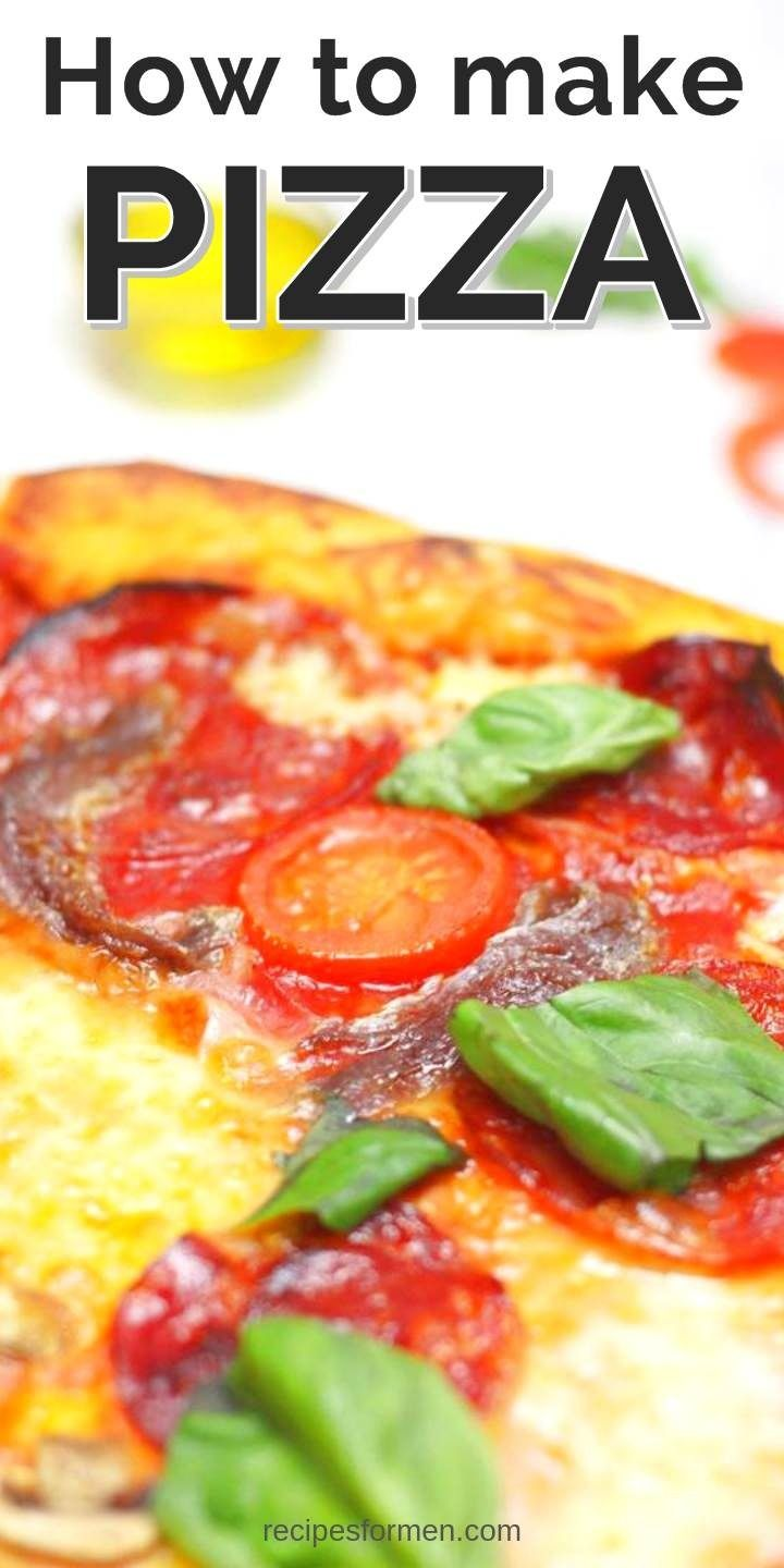 Learn Hot To Make Homemade Healthy Pizzas Pizza Pizzasauce