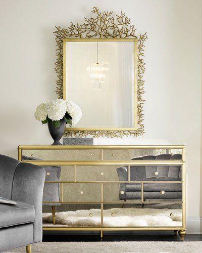 H8J2D Cynthia Rowley for Hooker Furniture Twiggy Dresser Mirror
