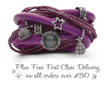 Purple Story bracelet by Kranz and Ziegler Free delivery on Orders over £30