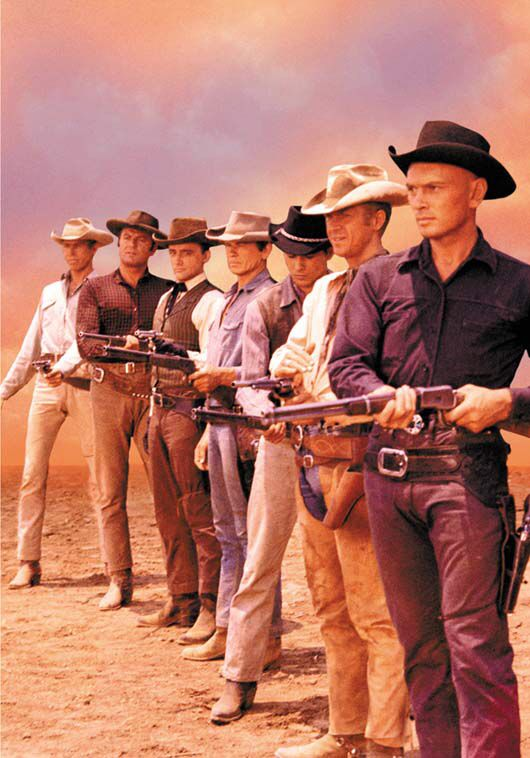 I just love this movie.  Have you seen Yul's walk in this film..What a beautiful walk he had.  Back when a man was rugged.  RF