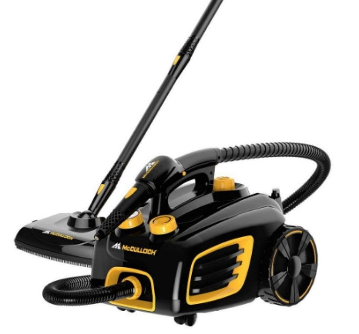 Multi-Purpose Canister Steam Cleaner Handheld Carpet Cleaner 1500-Watts