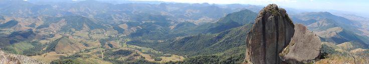 Visconde de Mauá - Do alto do Pico da Pedra Selada á 1750m