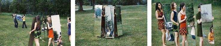 Joan Jonas, Mirror performance, 1969, Galleria Raffaella Cortese