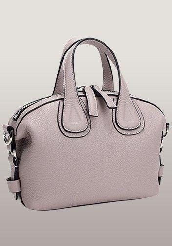 Giovanna Micro Calf Leather Shoulder Bag Pink