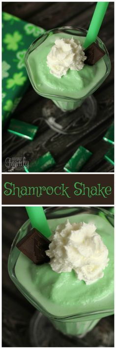 This Shamrock Shake is a copycat of McDonald's cold minty shake, except better! Our version is made with real ice cream, which makes all the difference.