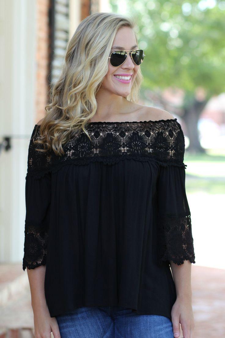 Lavish Boutique  - The Henley Top: Black , $42.00 (http://lavishboutique.com/the-henley-top-black/)