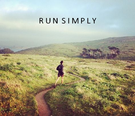 running clears my mind.
