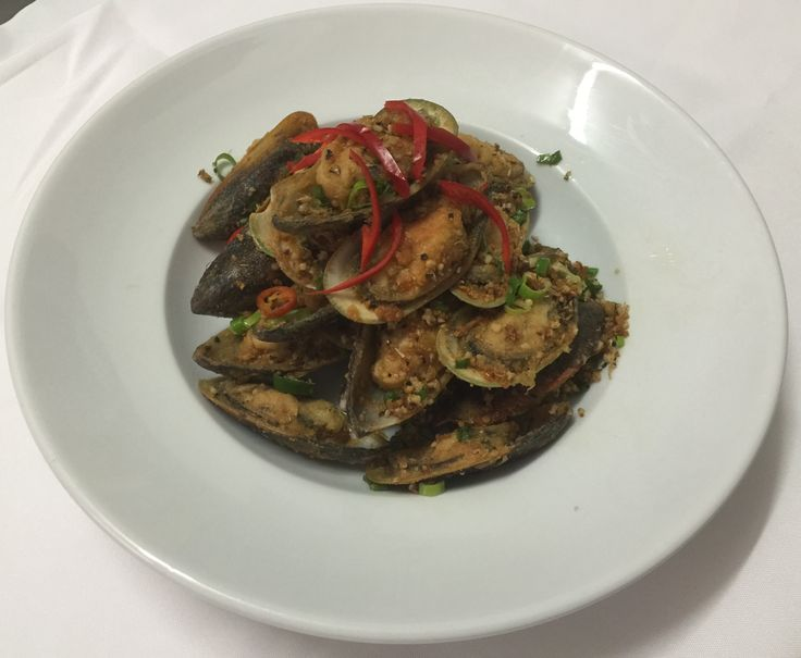 Chilli Stir Fried Muscles