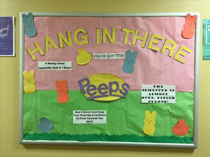 RA Spring Bulletin Board - Motivation