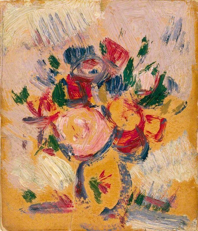 'Vase of Flowers', John Duncan Fergusson, 1911.