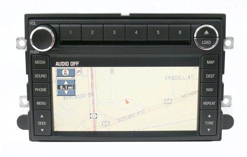 2008-2009 Ford Explorer AM FM Radio 6 Disc CD Player w Navigation 8L2T-18K931-AD