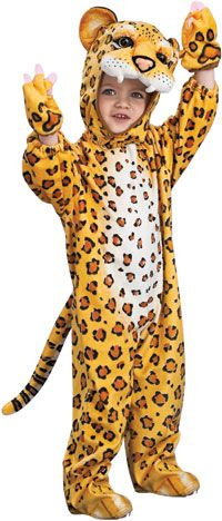 Kids Leopard Costume - Kids Costumes