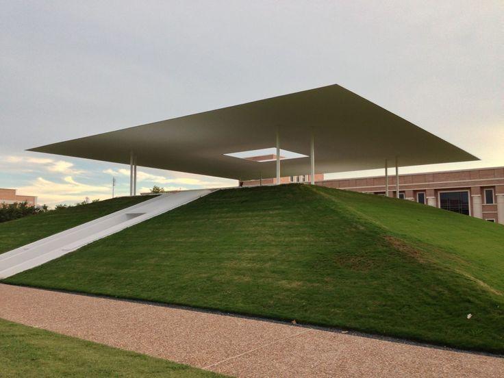 James Turrell Skyspace at Rice University in Houston, TX