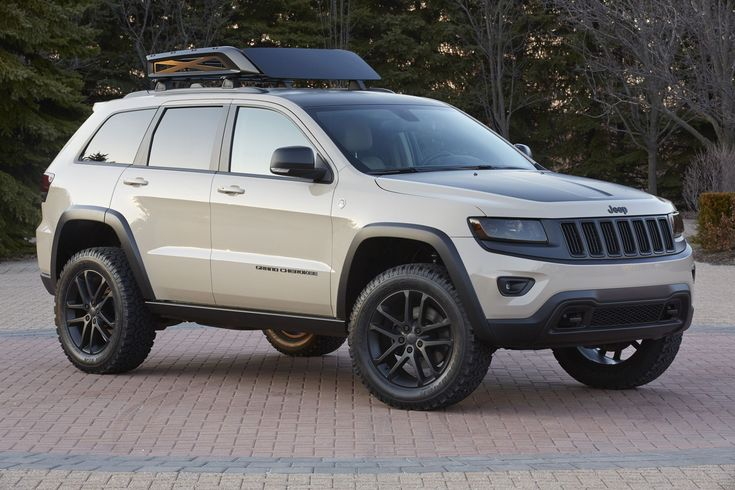2015 #Jeep Grand Cherokee EcoDiesel Trail Warrior Concept.